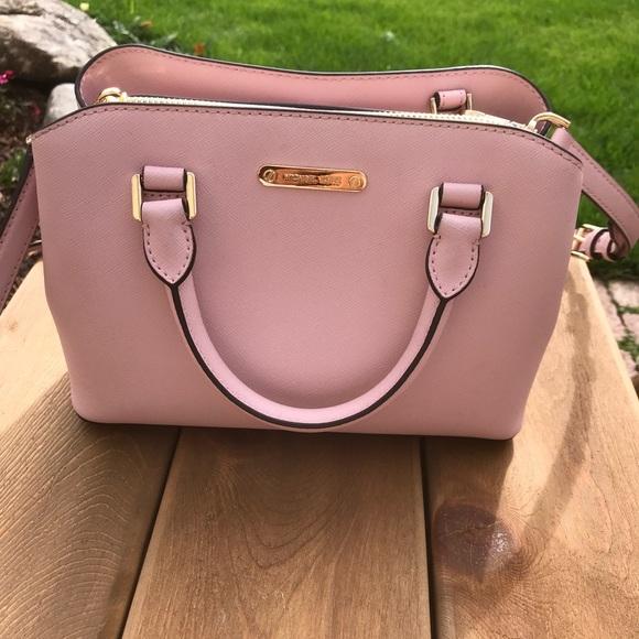 10e1f337c6d Michael Kors Savannah Satchel Blossom Pink EUC! M_5b28fcc9819e90465bde2a0f.  Other Bags you may like. Handbag